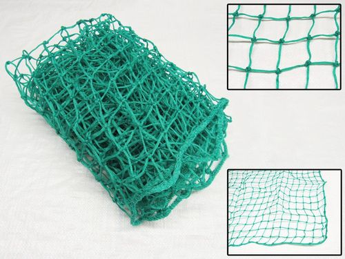 1.5M X 2.2M Cargo Net Green Polyethylene Knotted – Scramble Rope Net Pond Garden Hold Tie Down